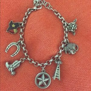 Brighton Texas Charm Bracelet. 🤠